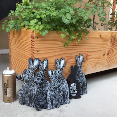 production day for make your city wild bunnies