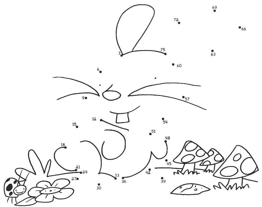 140 Desenhos Pontilhados Para Educação Infantil: Junte Os