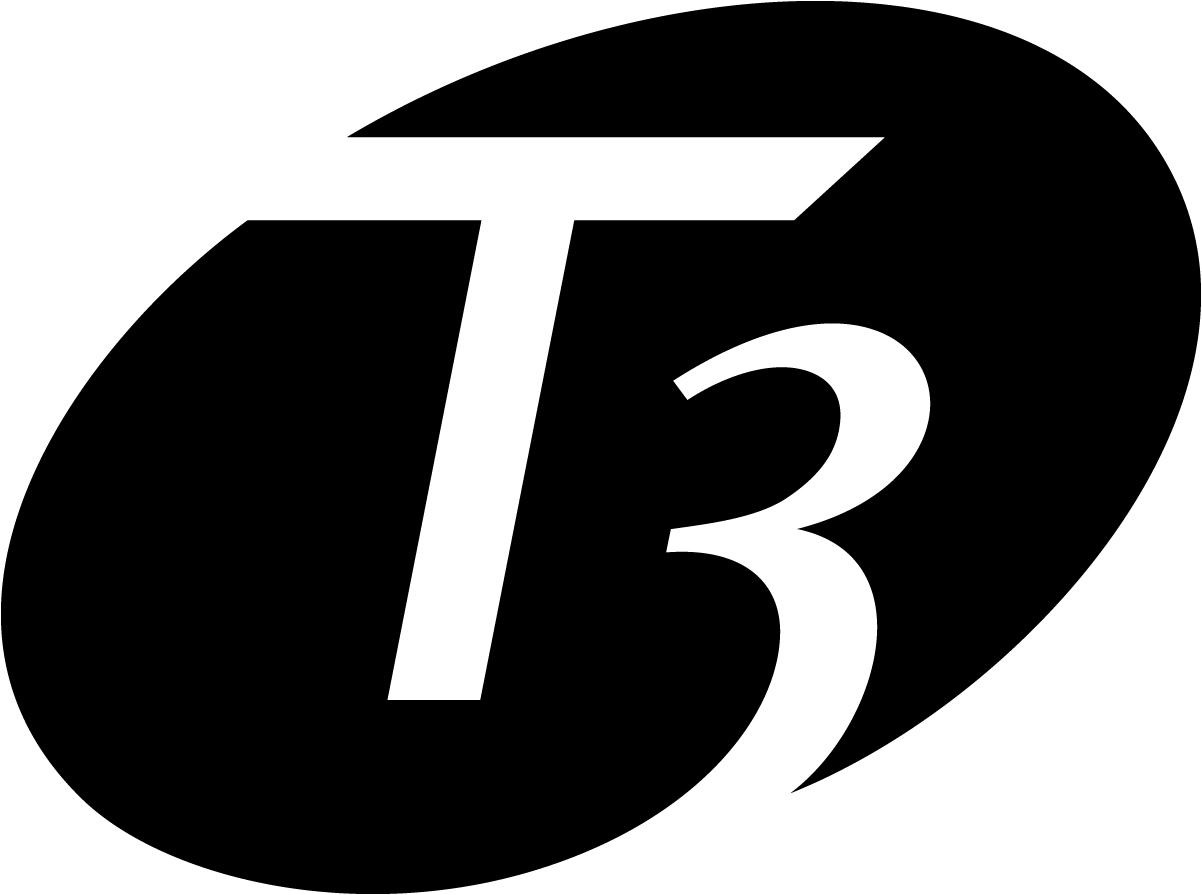 t3 hair logo