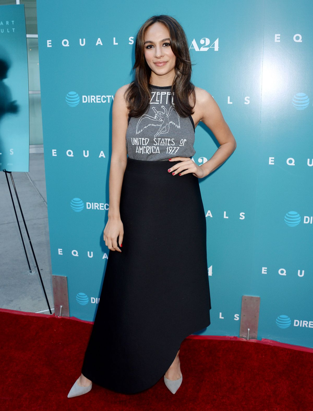 HQ Photos of Aurora Perrineau At Equals Premiere In Hollywood