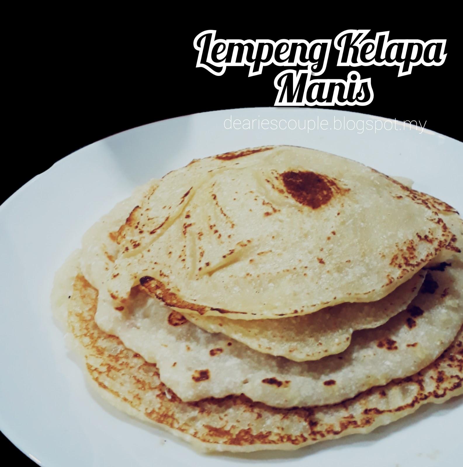 Resepi Lempeng Kelapa Manis Mudah Mrs Liez Malaysian