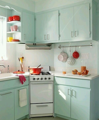 Kitchen design ideas for small kitchens Tosca color