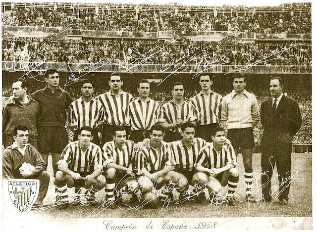 Resultado de imagen para athletic club bilbao 1957