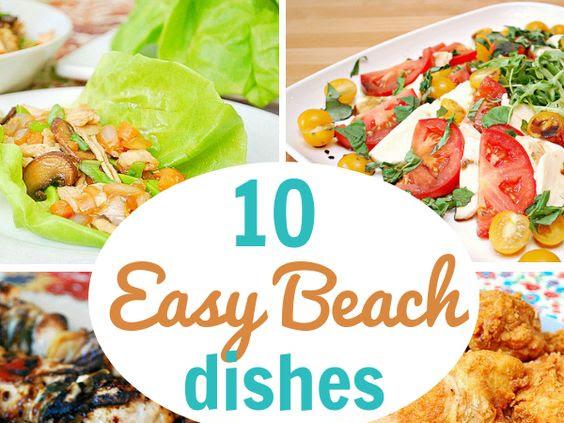 Round Up: Beach Eats!