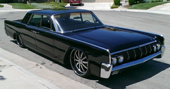 Muscle Car Collection 1964 Lincoln Continental Has A Mafia Appearance