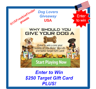 image   USA Freebie-Free GiveawayDog Bones PLUS Target Gift Card