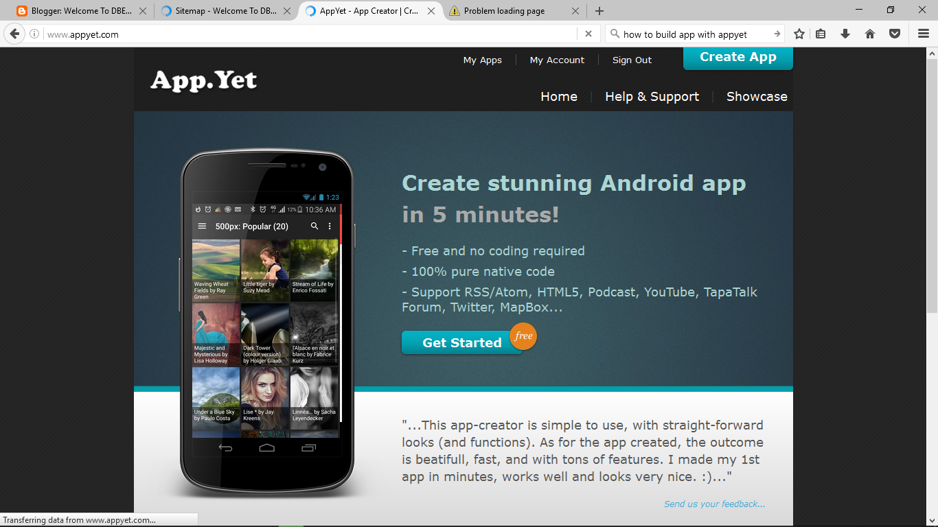 How To Turn Website RSS Feed/URL Into Android App