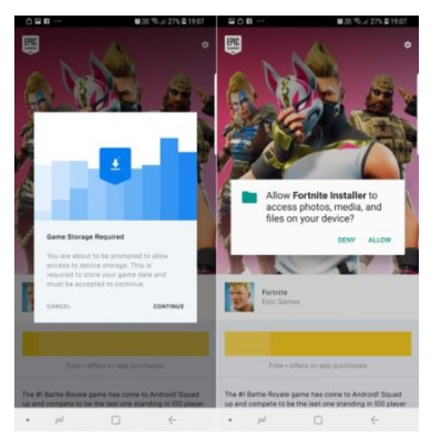 Google discovered A Security Flaw In Fortnite Installer App For