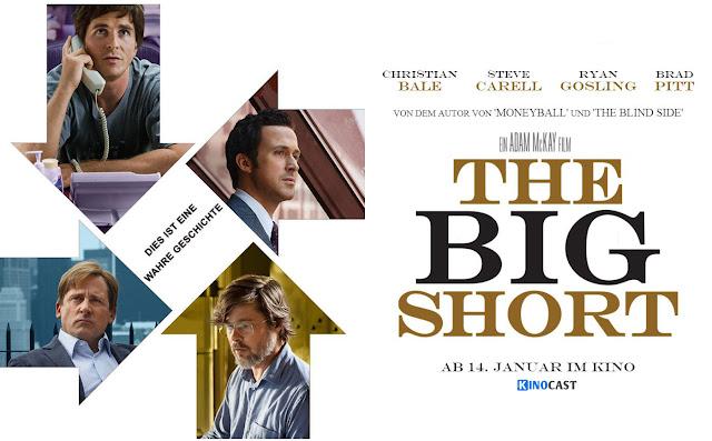 ΤΟ ΜΕΓΑΛΟ ΣΟΡΤΑΡΙΣΜΑ, CINE ΣΕΡΡΕΣ, The Big Short, Adam McKay, Christian Bale, Steve Carell, Ryan Gosling, Brad Pitt,