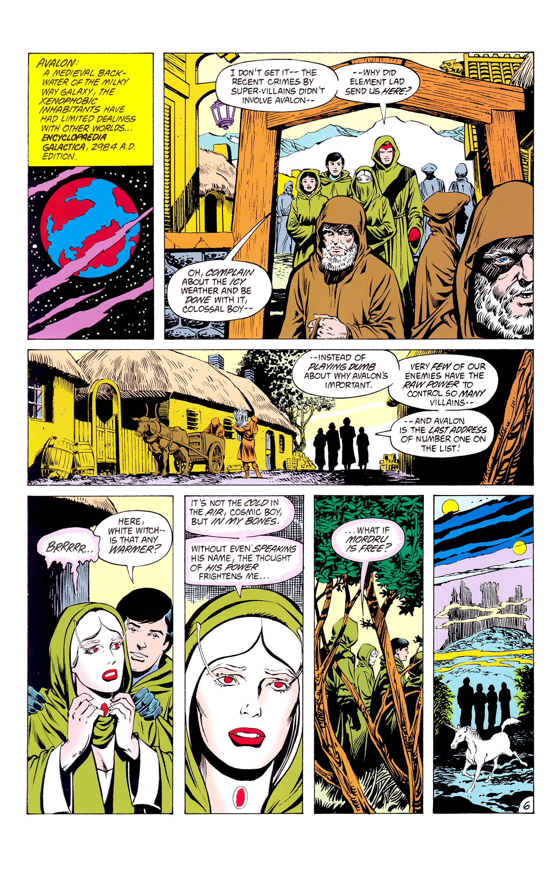Legion of Super-Heroes (1980) _Annual_3 Page 6