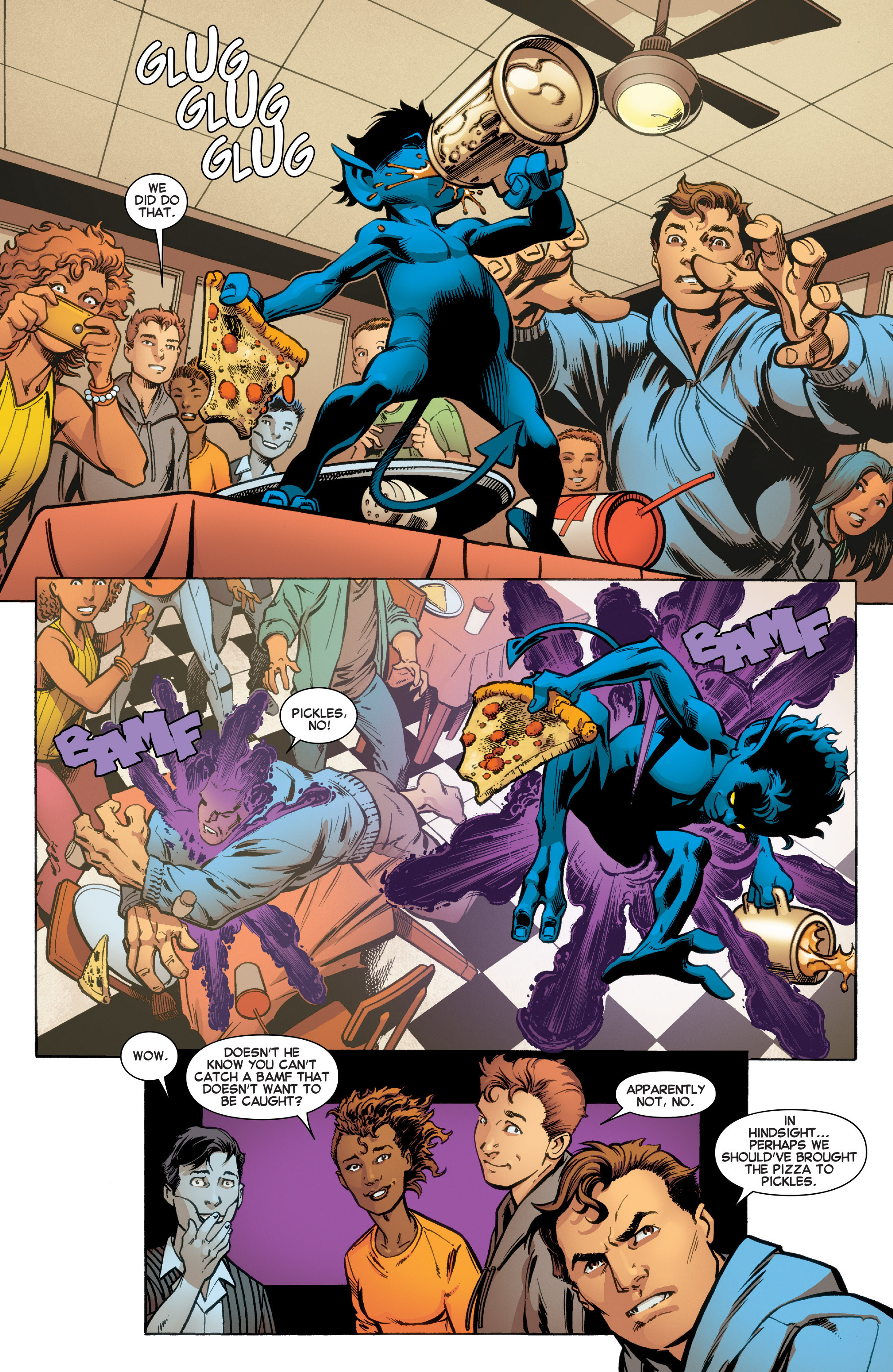 Read online All-New X-Men (2016) comic -  Issue #2 - 19