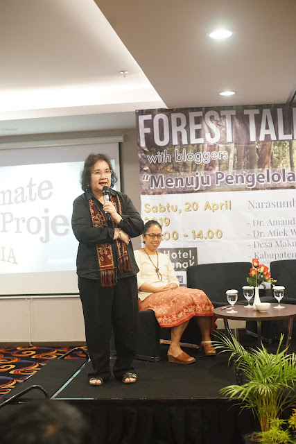 Ibu Amanda Katili Niode, Manager The Climate Reality Indonesia