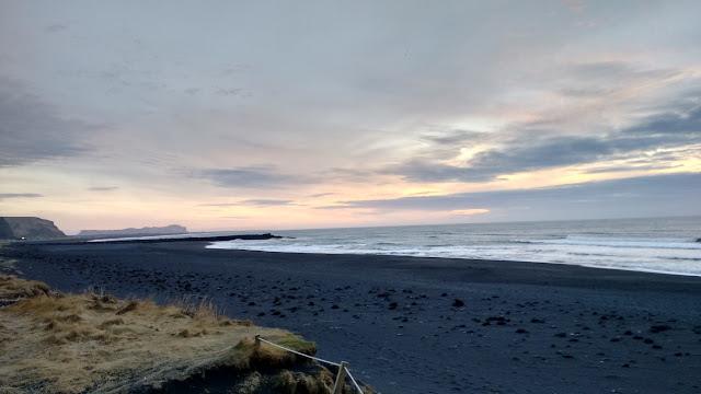 plaża w Viku, Vik plaża, Islandia plaża