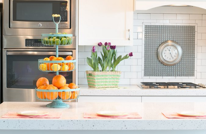 spring kitchen tour