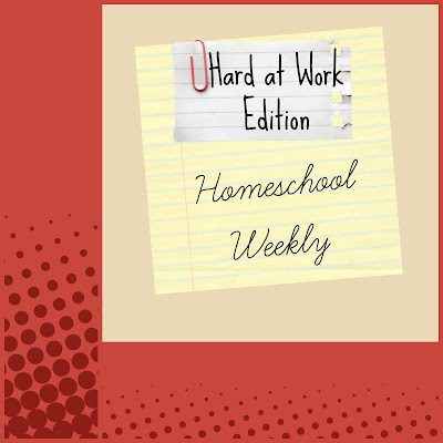 Homeschool Weekly - Hard at Work Edition on Homeschool Coffee Break @ kympossibleblog.blogspot.com