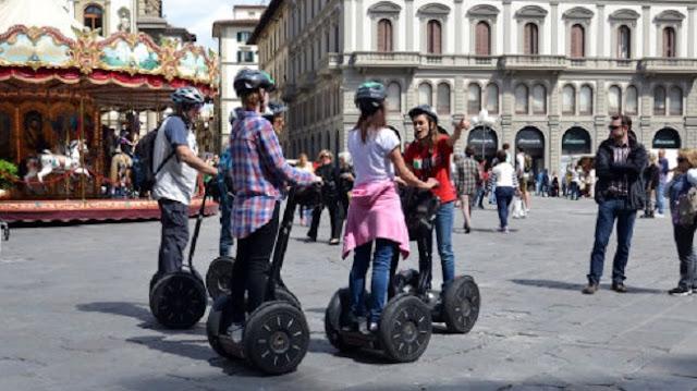 Ingressos para o tour de Segway por Florença a noite