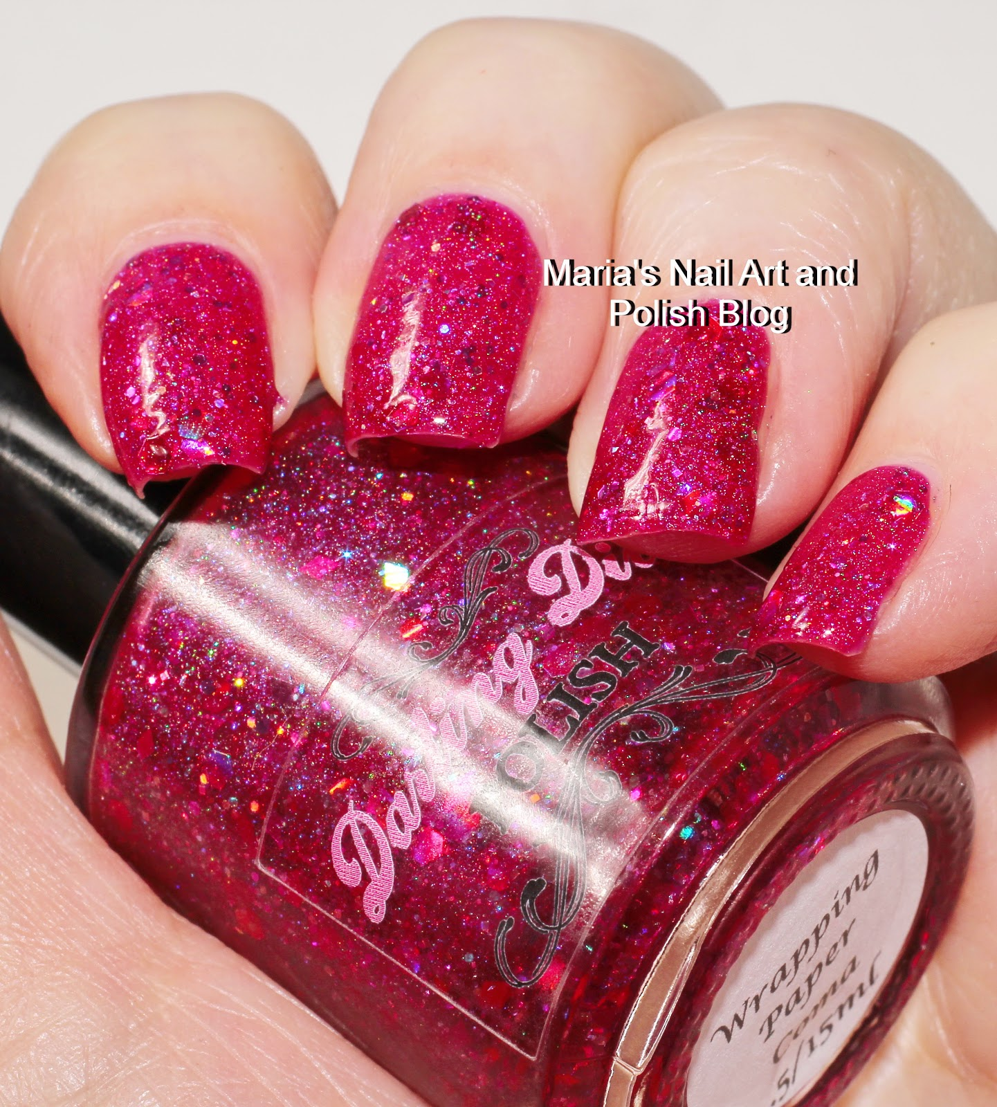 Marias Nail Art And Polish Blog Flushed With Stripes And: Marias Nail Art And Polish Blog: Darling Diva Wrapping