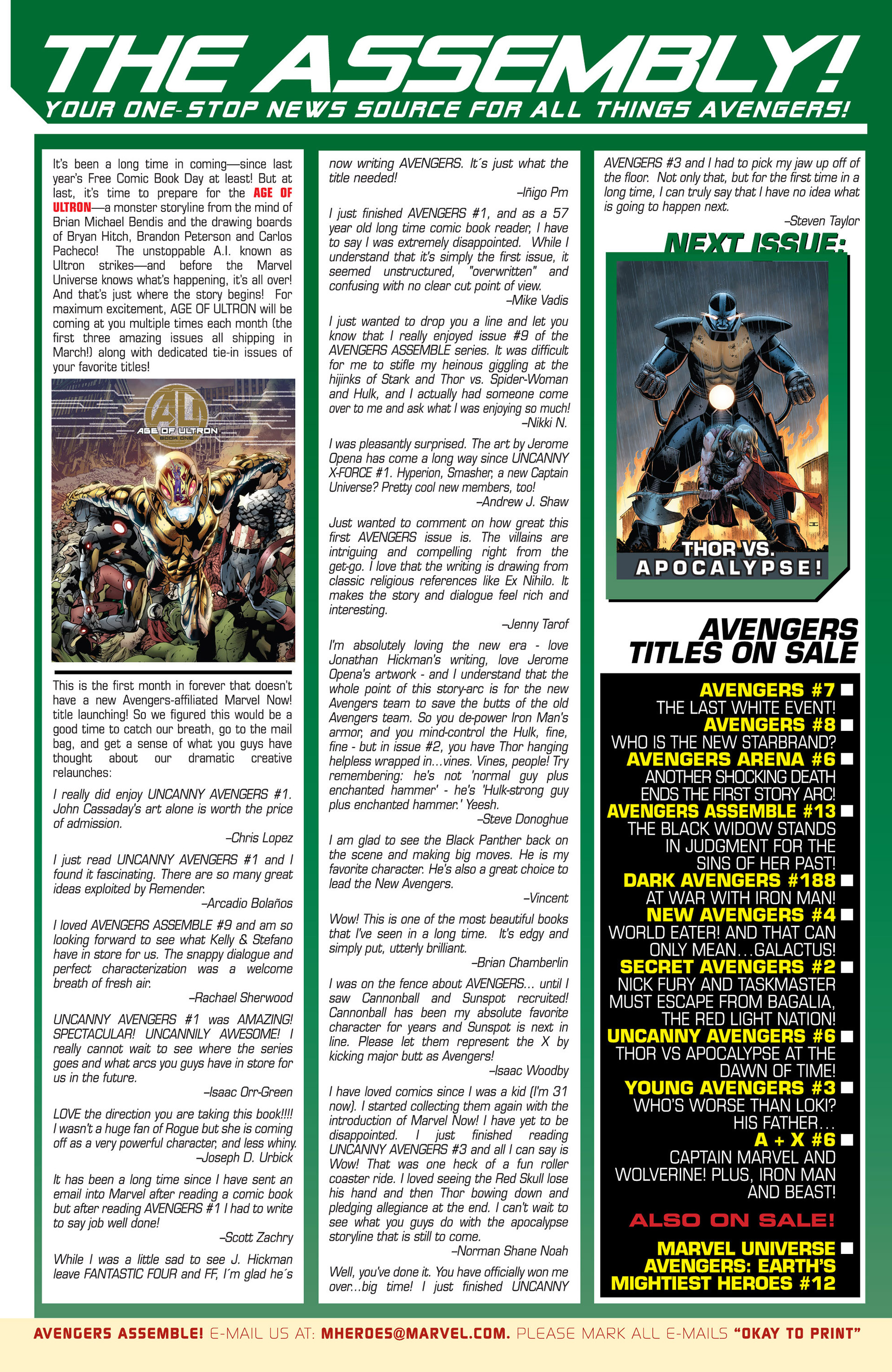 Read online Uncanny Avengers (2012) comic -  Issue #5 - 23