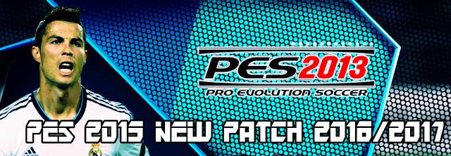 PES 2013 New Patch Season 2016-2017