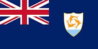 Logo Gambar Bendera Negara Anguilla PNG JPG ukuran 200 px