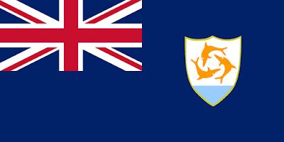 Logo Gambar Bendera Negara Anguilla PNG JPG ukuran 400 px