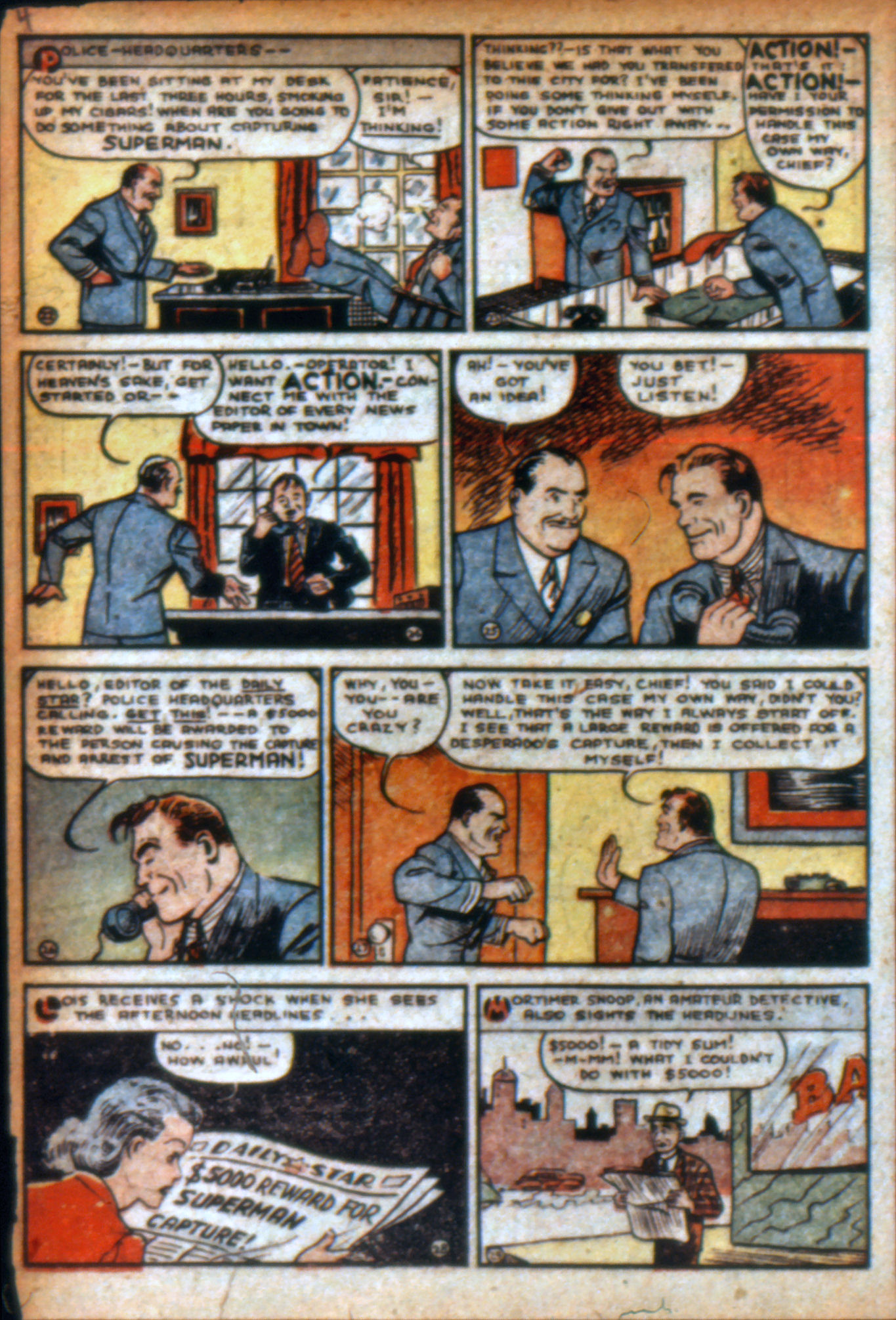 Read online Action Comics (1938) comic -  Issue #9 - 7