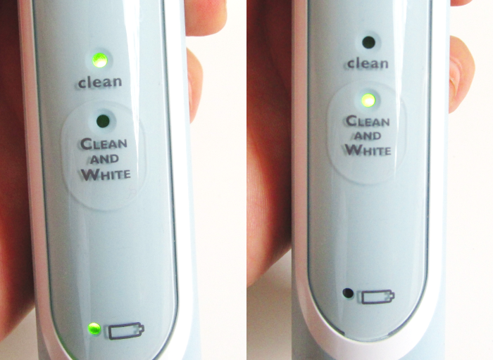 Review: Philips Sonicare HealthyWhite Zahnbürste 4 Series - 69.99 Euro - Clean and White Programme