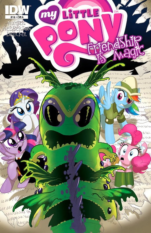 IDW MLP:FiM comic issue 16, cover A