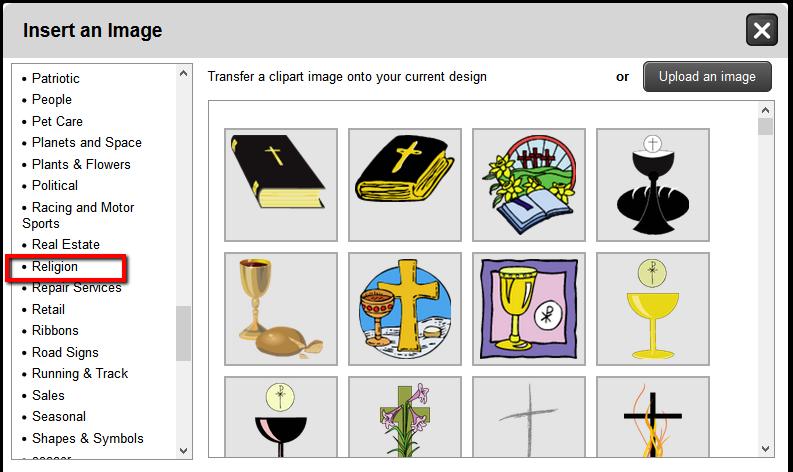 Religion Clip Art Images | Banners.com