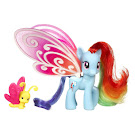 MLP Glimmer Wings Rainbow Dash Brushable Pony