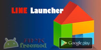 LINE Launcherv2.1.60  APK Terbaru