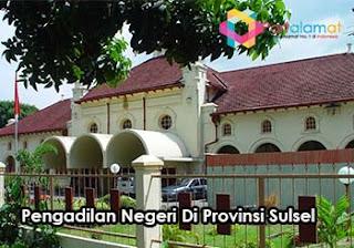 Alamat Pengadilan Negeri Di Sulawesi Selatan