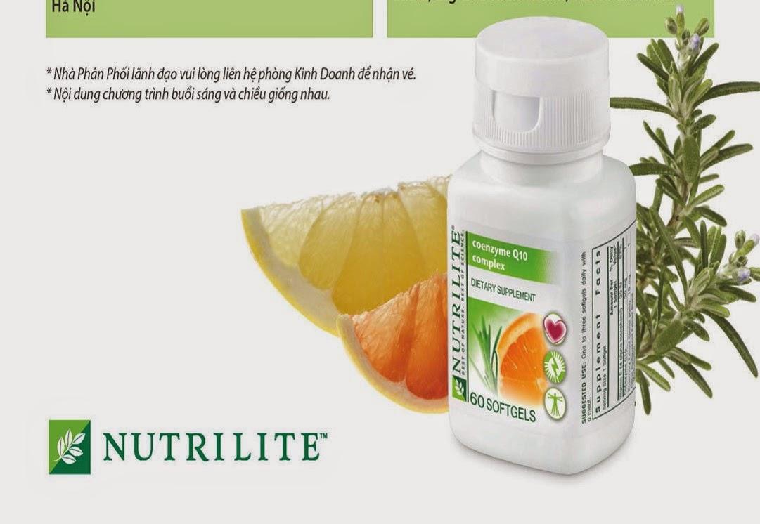 Nutrilite Coenzyme Q10 Complex - Coq10 của Amway giá rẻ