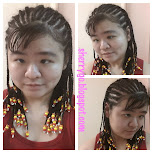 My braided hairstyle