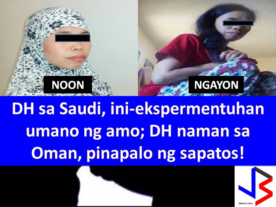 Maltreatment and abuse are number 1 problem of Overseas Filipino Workers (OFWs) particularly of the Domestic Helpers or Household Helpers, especially in the Middle East.  Concerns about physical abuse are not new but in spite of this, still, hundreds of domestic workers are seeking work overseas to provide the need of the family way back home.  In Saudi Arabia, a domestic helper is calling for immediate help in her situation in the hands of her employer.
