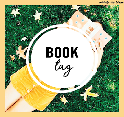 Book tag  | Nominada por Gata de biblioteca