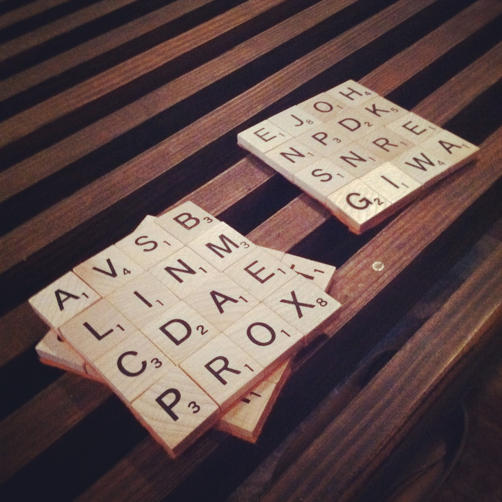 Diy Table Coasters Define Chaos Diy Scrabble Coasters