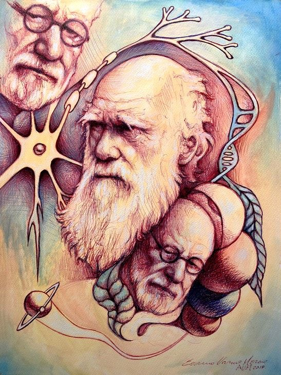 DARWIN AND FREUD, Genetic neuropsychiatry.