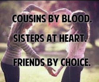 best cousins forever images and quotes
