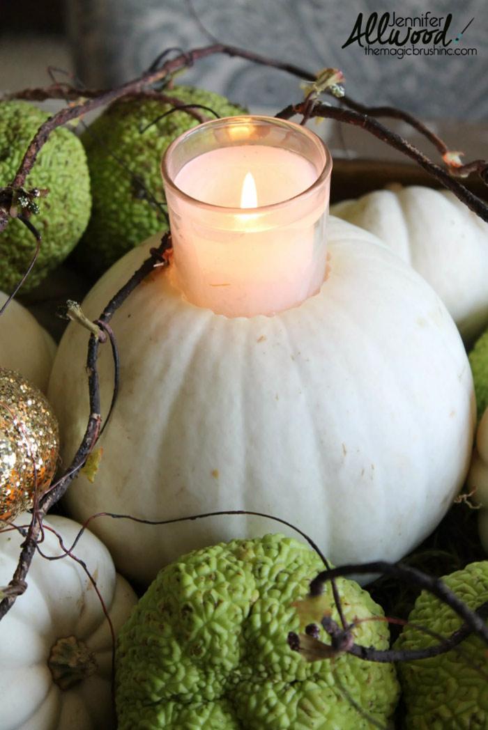 Candle Pumpkins