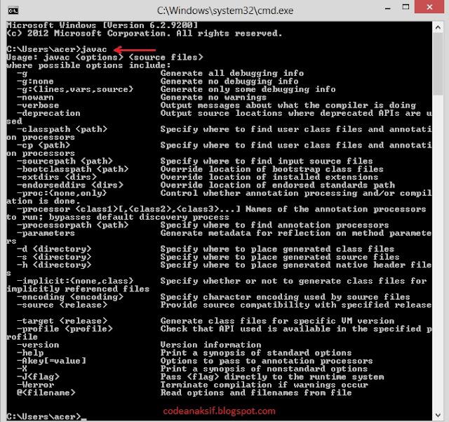 cara install java NetBeans di Windows