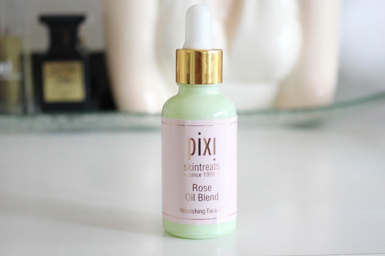 beauty oils for combination skin, facial oils for combination skin, pix rose oil blend