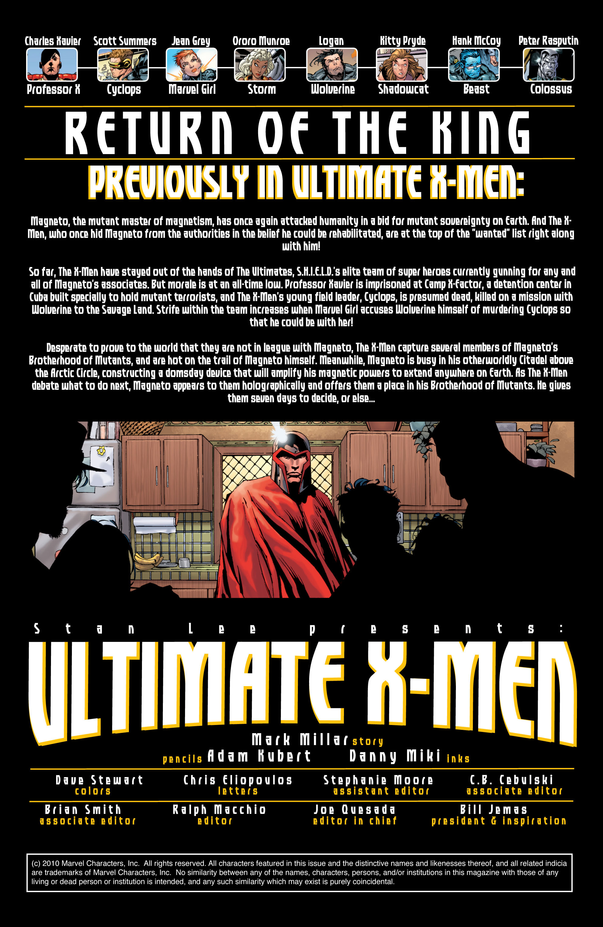 Read online Ultimate X-Men comic -  Issue #29 - 2