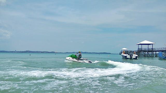 Jetski dari Montigo Resort Batam