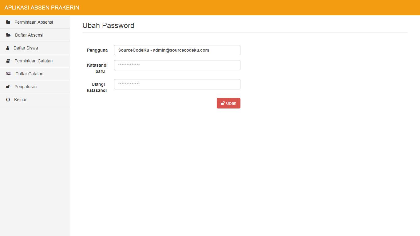 Aplikasi Absensi Prakerin - SourceCodeKu.com