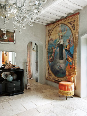 Eclectic country house in Tuscany/lulu klein