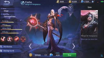 Karakter Hebat Dan Terkuat Mobile Legends Ditahun 2018 – Fahsa Si Ratu Area Hitam