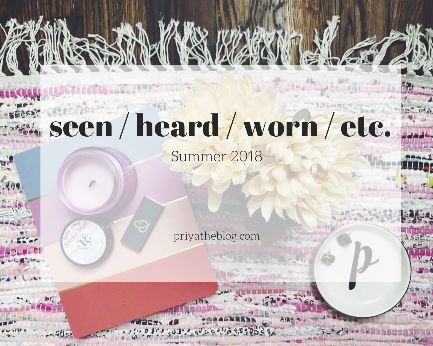 Priya the Blog, Nashville lifestyle blog, Nashville lifestyle blogger, Seen / Heard / Worn / Etc. Summer 2018, ban.do hot sauce case, The Staircase, 2 Dope Queens, book reviews, Sharp Objects
