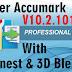 Gerber Accumark 10.2 Work Windows 1/8/7 || Accumark 10.2.101 With Accunest+3D Blender+MTM