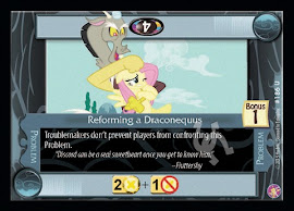 My Little Pony Reforming a Draconequus Absolute Discord CCG Card